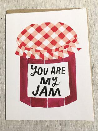 LISACONGDON 'Jam' Greeting Card CR20