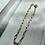 Thumbnail: Small Rectangular Link Bracelet FBA22
