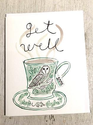 APARTMENTONBELMONT 'Get Well' Greeting Card CR32