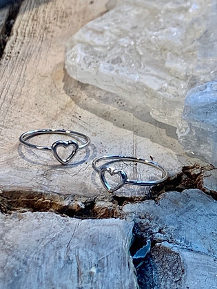 KINDRED  Sterling Silver Heart Ring KR47