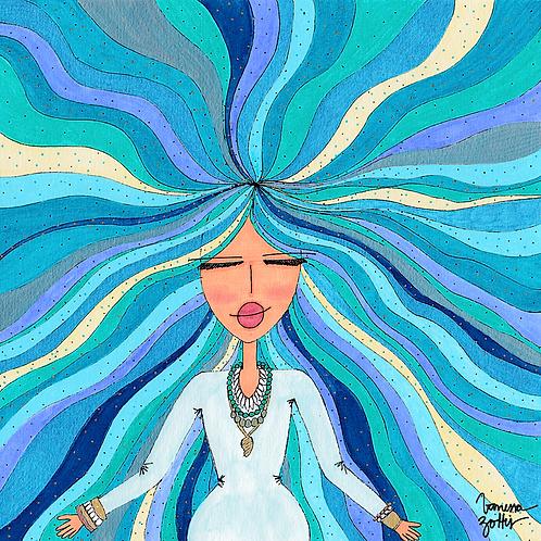 Ilustração Rainha do Mar