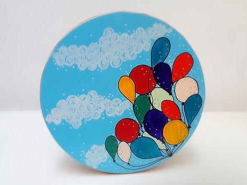 Banquinho Balões