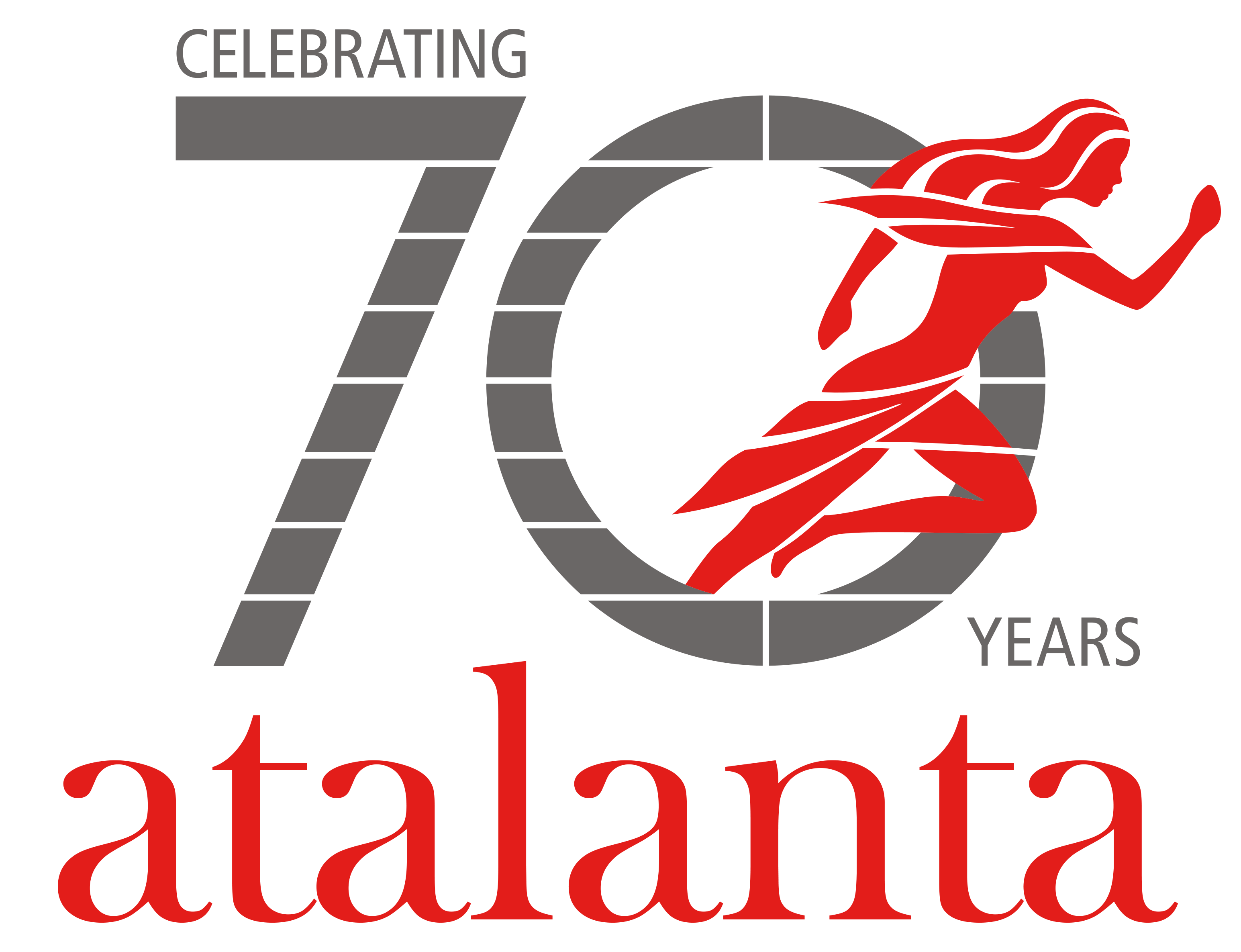 Atalanta 70th Year Anniversary