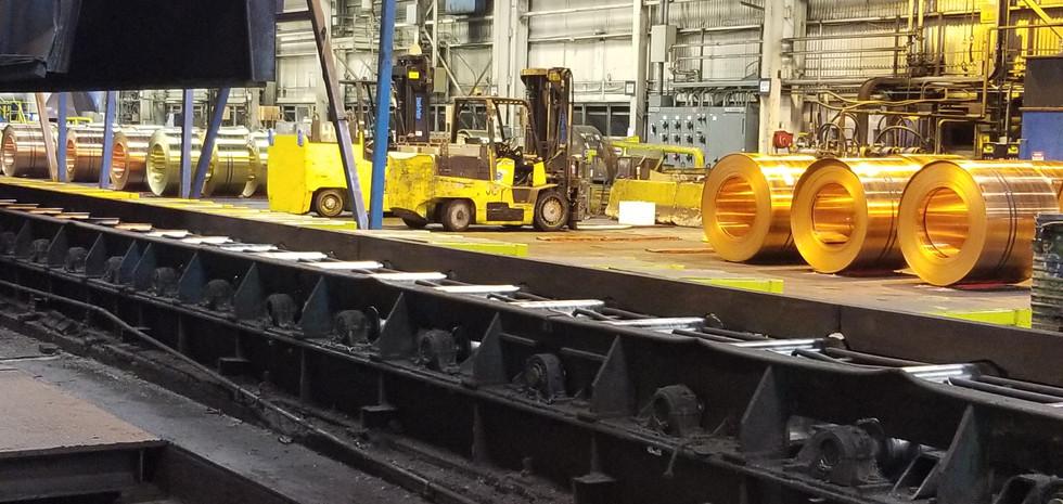 Industrial conveyor Brass Mill