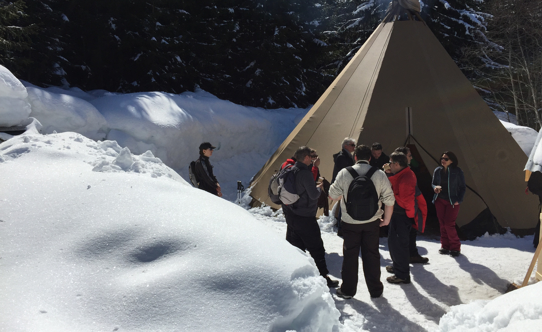 lavvu HC-Events Megeve tipi