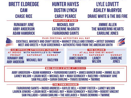 Country to Country C2C Announce Full Lineup