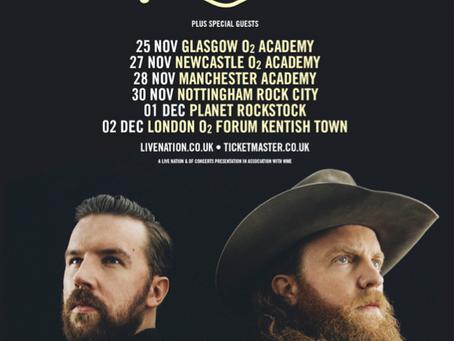 Brothers Osborne NEW UK Tour Dates
