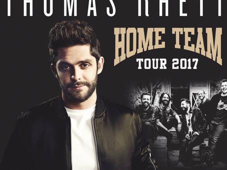 Thomas Rhett UK Tour 2017