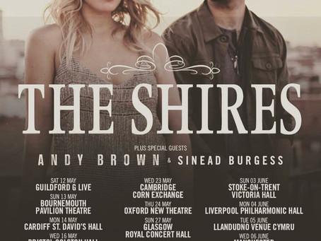 The Shires U.K. Tour 2018