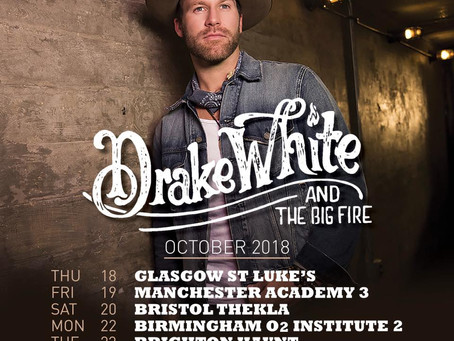 Drake White UK Tour 2018