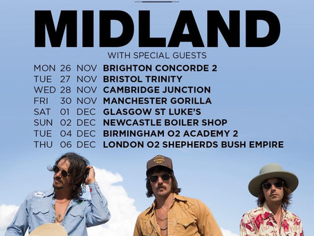 Midland UK Tour 2018
