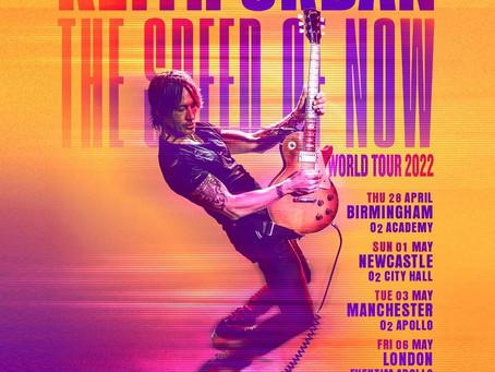 Keith Urban UK Tour 2022