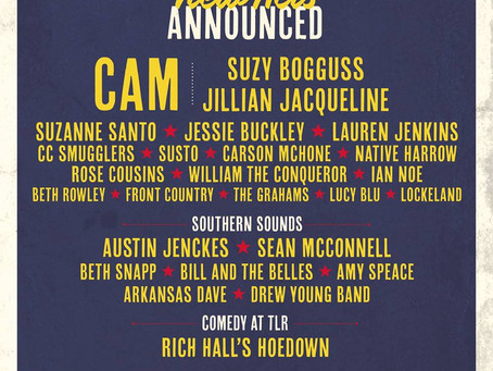 Cam, Suzy Bogguss, Jillian Jacqueline, Jessie Buckley And Rich Hall Added To Line-Up For The Long Ro