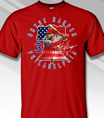 Bryce Harper Phillies Liberty Bell T-Shi