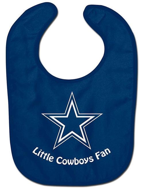 Cowboys Baby Bib
