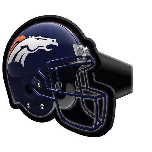Broncos Hitch Cover
