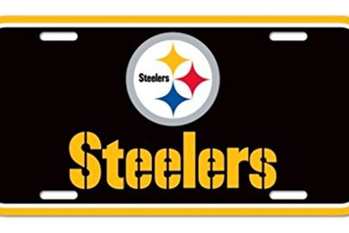 Steelers Logo License Plate