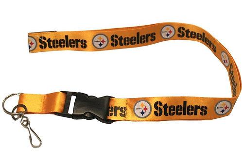 Steelers Lanyard Yellow