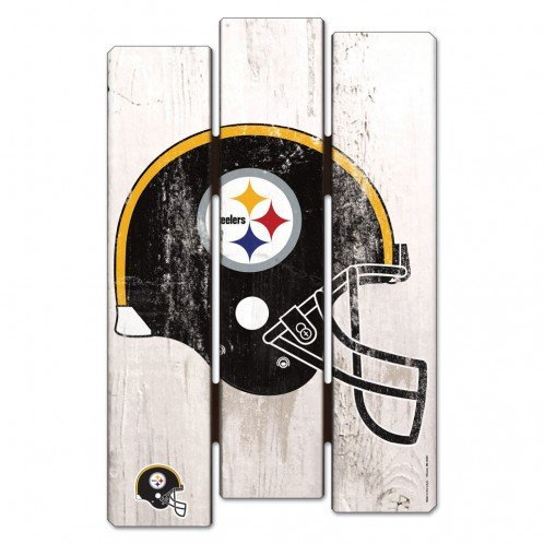 Steelers Wood Fence Sign