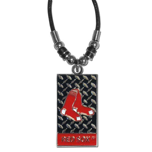 Red Sox Necklace