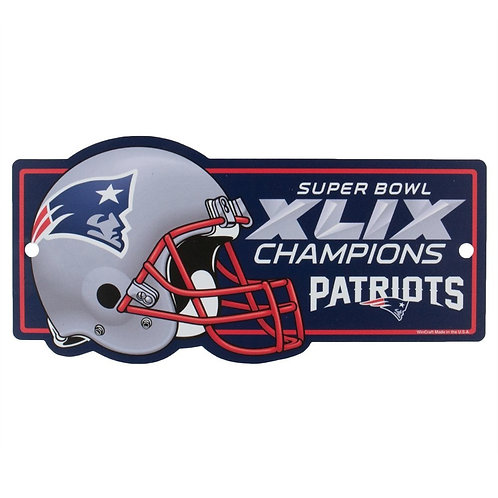 Super Bowl XLIX Patriots Sign