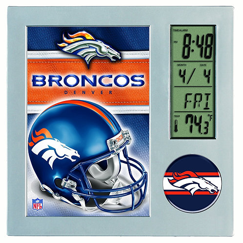Broncos Digital Clock