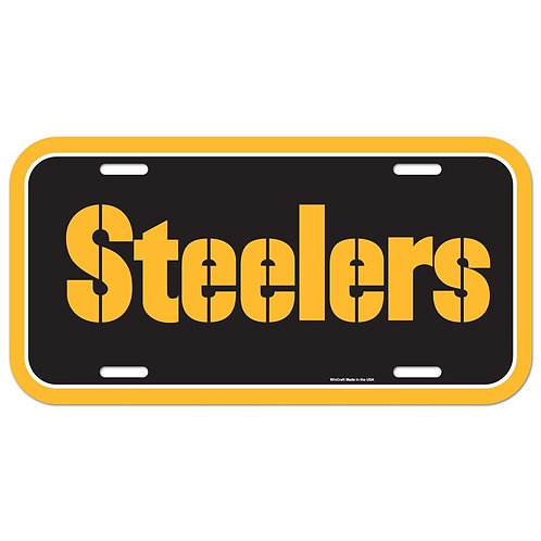 Steelers Name License Plate