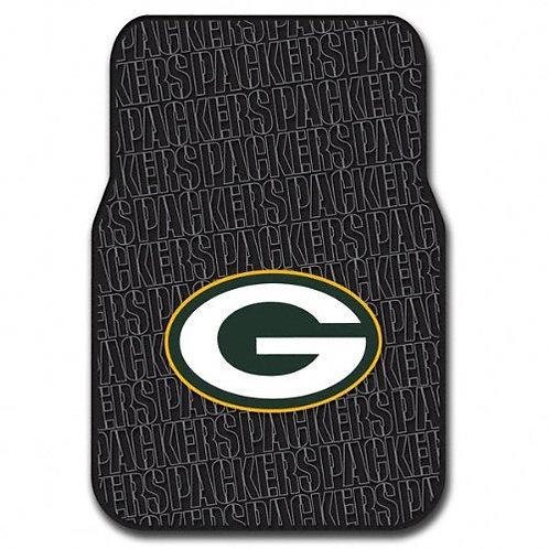 Packers Car Floor Mats