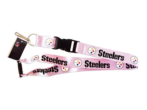 Steelers Lanyard Pink
