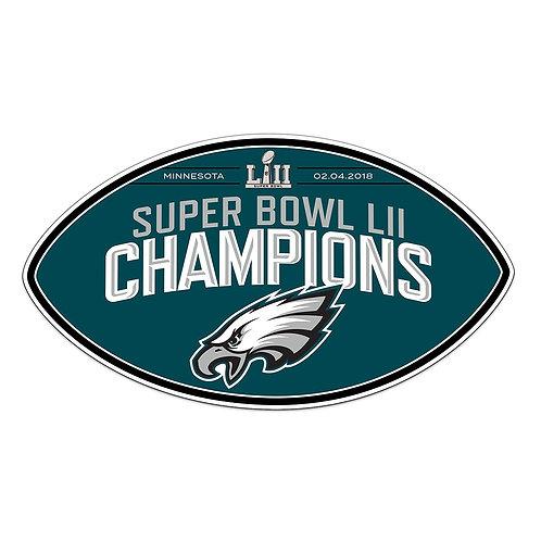 Super Bowl LII Eagles Magnet