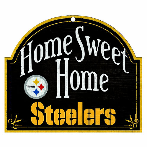 "Steelers ""Home Sweet Home"" Sign"