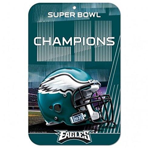 Super Bowl LII Eagles Sign