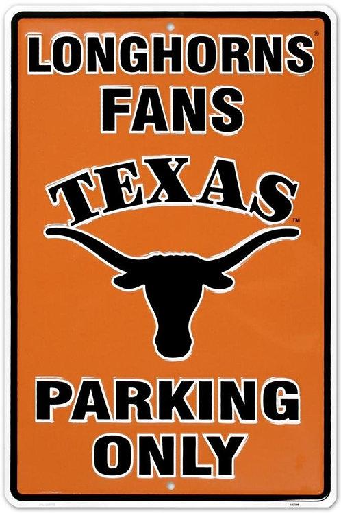 University of Texas Parking Sign