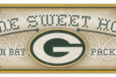 """Packers """"Home Sweet Home"""" Sign"""