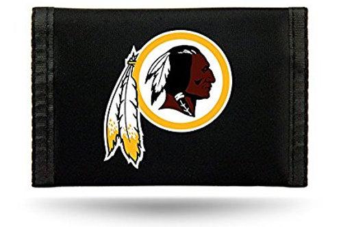 Redskins Tri-Fold Nylon Wallet
