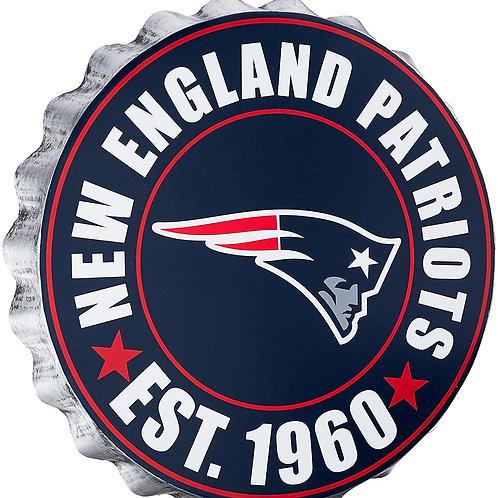 Patriots Bottle Cap Sign