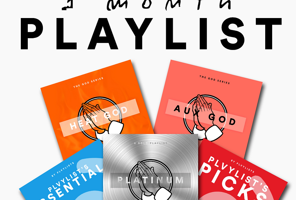 Get Featured by Plvylists | Lyric Video + 1 Month Marketing Campaign