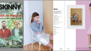 Breakfast with 'Skinny' Magazine.