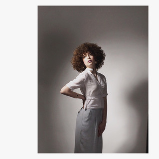 Styling work for Claxton Hair