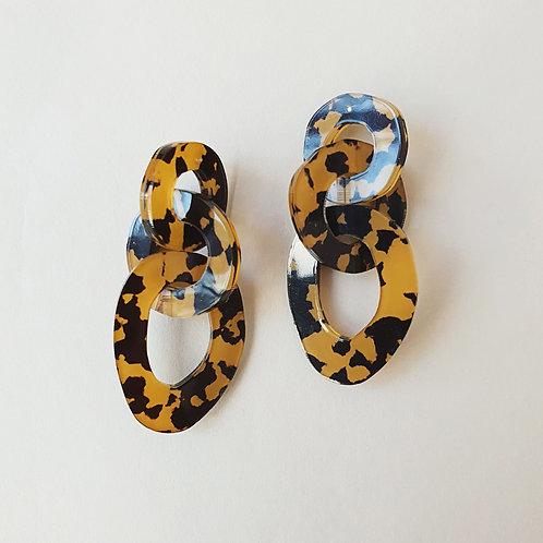 Irregular Chain Earrings