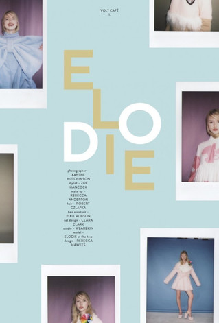 'Elodie' Editorial for Volt Cafe
