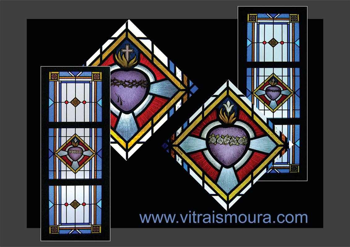 Vitral Capela - Sagradom Coração