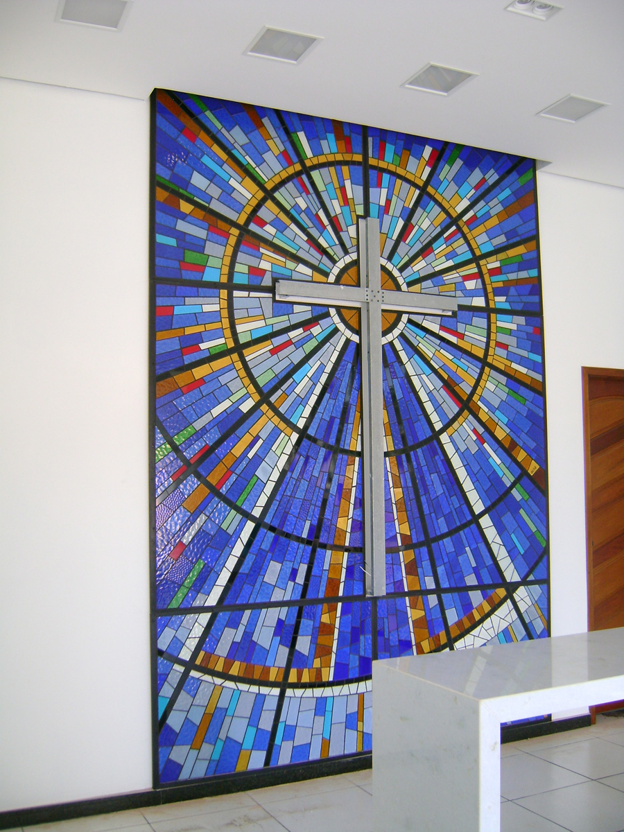 Mosaico - Capela Coqueiral 1200 - MG