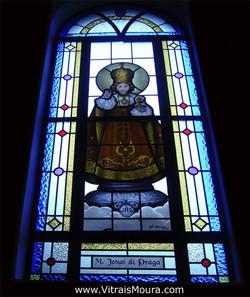 Menino Jesus de Praga - Vitral