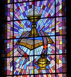vitral Igreja São Sebastião - BH