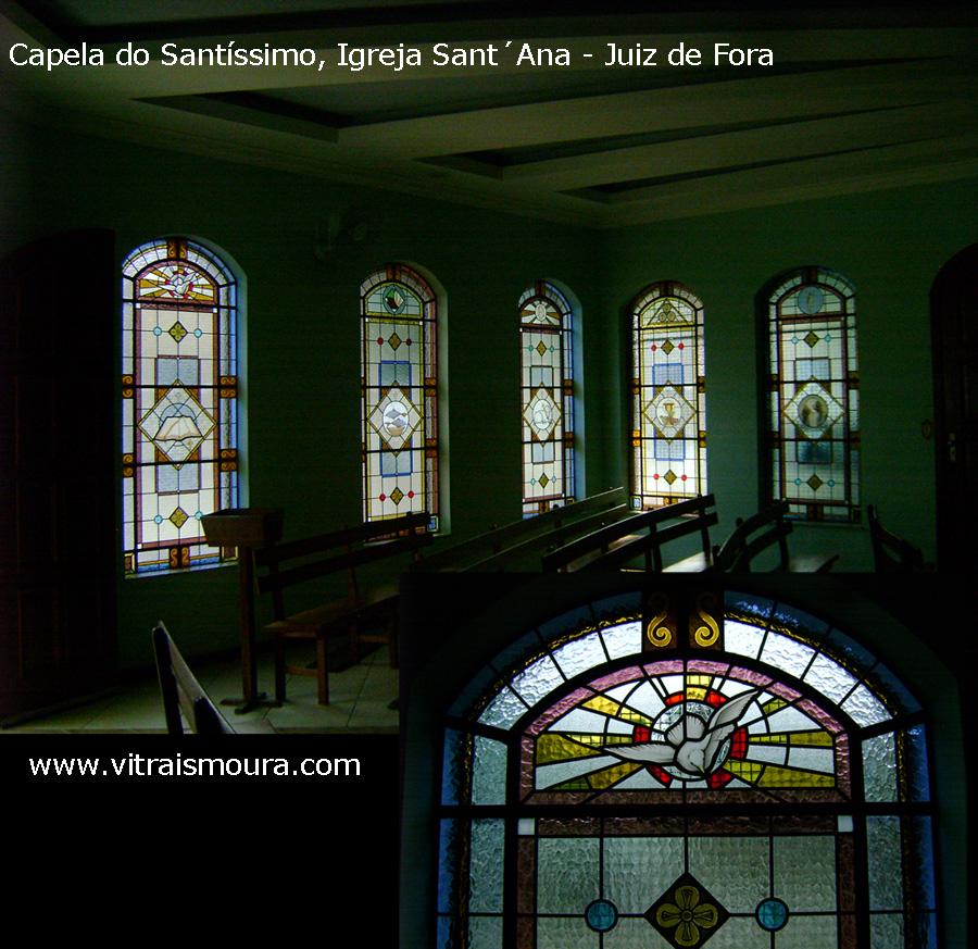 Vitral para capela