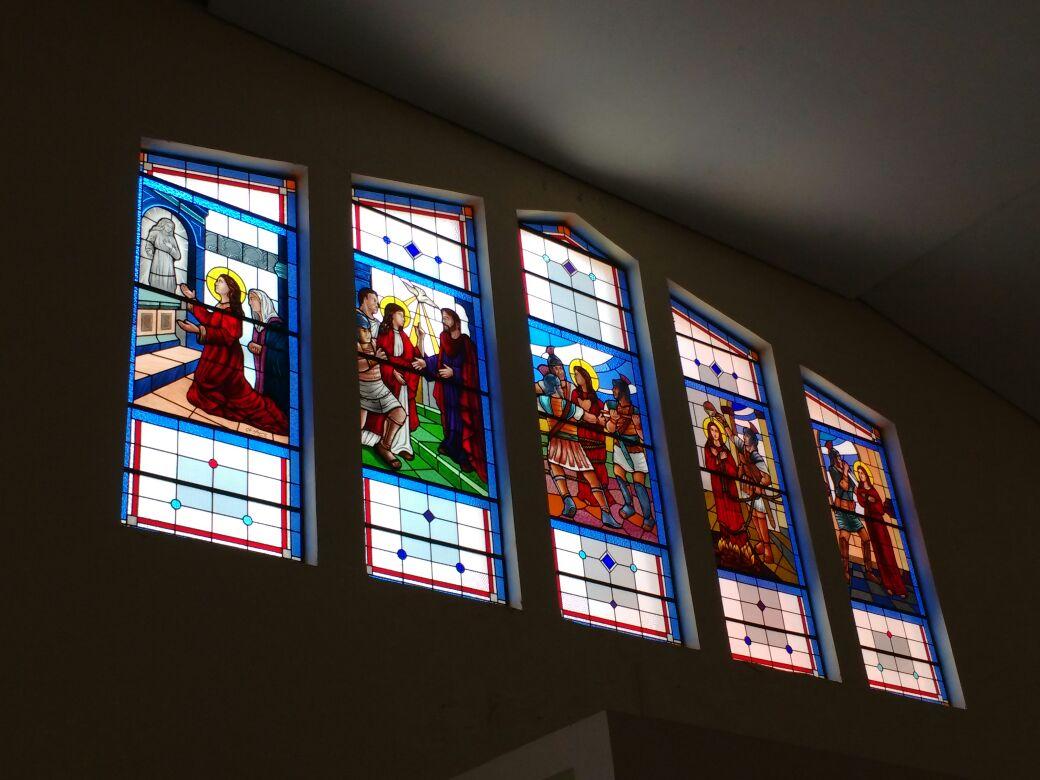 Vitrais de igreja
