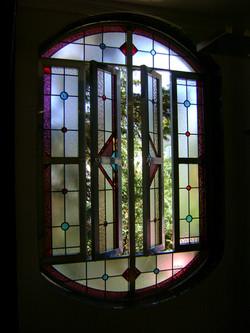 Vitral residencial l geométrico