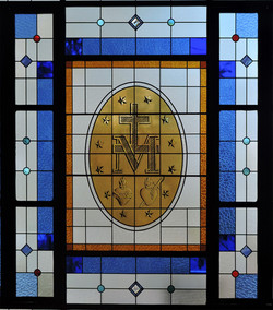 Medalha milagrosa I vitrais moura