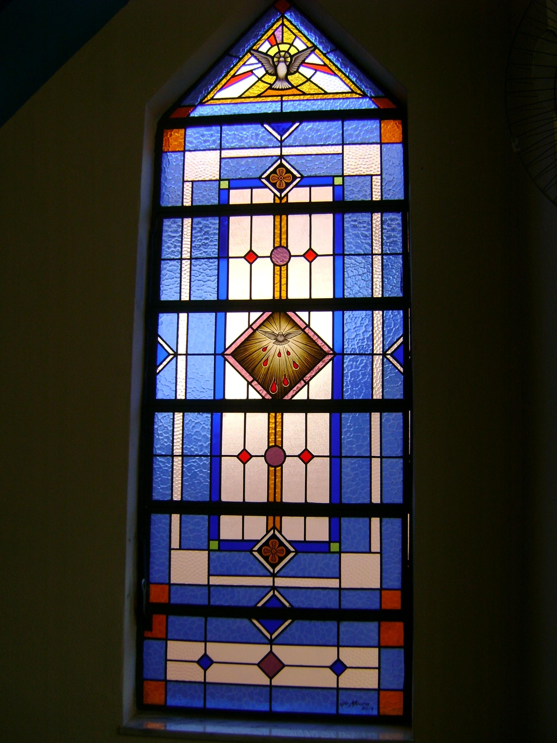 Igreja de Santa Luzia - Vitrais